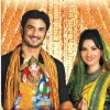 Sushant Singh Rajput and Ankita Lokhande Wishing Happy Ganesh Chaturthi