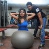 Rachana Shah Fitness workout with Trainer Satish Naidu