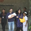 Shilpa Shetty discharged from hospital with her baby boy and husband Raj Kundra