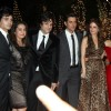 Fardeen Khan, Hrithik Roshan with wife Suzzane Khan, Preity Zin at Karan Johar's 40th Birthday Party