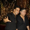 Akshay Kumar and Sajid Khan at Karan Johar's 40th Birthday Party