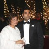 Karan Johar with mother Hiroo Johar at his 40th Birthday Party