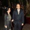 Sooraj R Barjatya with wife at Karan Johar's 40th Birthday Party