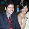 Hiten and Gauri at a wedding