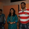 Sunidhi Chauhan during the song recording for Mukesh Chaudhry's Film Saali Khushi