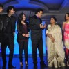 Hussain,Salim Merchant,Sunidhi,Anu Malik,Asha Bhosle at Launch of Sony's sixth season of Indian Idol