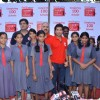 Indian cricketer Sachin Tendulkar at NDTV Coca Cola Support My School 100th school launch. .