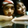 Sneha and Samentha