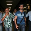 Bollywood actor Hritik Roshan snapped at Mumbai airport, India. .