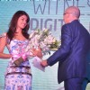 Bollywood actress Priyanka Chopra at Videocon D2H press meet JW Marriott Mumbai, India. .