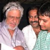 Actor Om Puri sings �Bharat Mata Ki Jai� for Film Raambhajjan Zindabaad