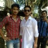 Sushant Singh Rajput With A Fan On Pavitra Rishta Set