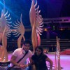Karan Tacker on sets of IIFA 2012