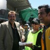 Sanjay Dutt and Ravi Kissen looking happy