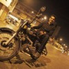Siddhant Karnick on bike