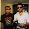 Bollywood actors Emraan Hashmi, Prosenjit Chatterjee and director Dibakar Bannerjee visit PVR Cinemas to promote their film Shanghai in Juhu, Mumbai