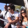 Shahid Kapoor and Priyanka Chopra board train from Marine Lines station