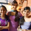 Rati Pandey with fans