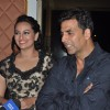 Sonakshi Sinha and Akshay Kumar at Rowdy Rathore Success Party
