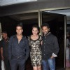 Akshay Kumar, Sonakshi Sinha and Prabhu Deva atRowdy Rathore Success Party