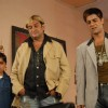 Mahesh Manjrekar and Sushant Singh in the movie Toss