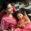 Ankita Lokhande With A Child Artist On The Set Of Pavitra Rishta