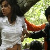 Nitin Reddy and Nisha Kothari in Agyaat movie