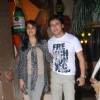 Gurdeep Kohli and Arjun Punj at Mika Singh's Birthday Bash