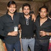 Vivek Oberoi, Ayushman Khurana and Mika Singh at Mika Singh's Birthday Bash