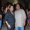 Mika Singh with Sanjay Gupta at Mika Singh's Birthday Bash organised by Kiran Bawa