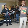 Mika Singh and Raghu Ram at Mika Singh's Birthday Bash organised by Kiran Bawa