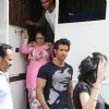 Hrithik Roshan spotted shooting for film Krrish 2 at Mehboob Studios in Mumbai