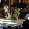 Madhuri & Saroj Khan preparing for the act