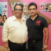 Satish Kaushik and Daboo Malik at Launch of the Audio of Pramod Sharma's Film 3 Bachelors