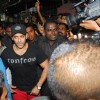 Salman Khan after short circuit on sets of film Dabangg 2 takes injured to Lilavati Hospital