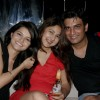 Rubina Dilaik, Keerti Kelkar and Sharad Kelkar at Karan Wahi Birthday Party