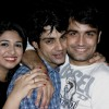 Vivian Dsena and Vahbbiz Dorabjee at Karan Wahi Birthday Party