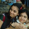 Deblina Chatterjee with her friend
