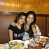Deblina Chatterjee and her friend