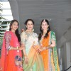 Esha Deol, Hema Malini and Ahana Deol at Esha Deol's Mehendi Ceremony