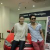 Kunal Khemu and Pooja Gupta promoting Movie Go Goa Gone