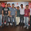 Prashant Shirsat, Ashoo Sethi with MTS group with the Cast of Bol Bachchan meet fans at Fame