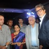 Sanjay Dutt, Bhawana Somaaya, TP Agarwal & Amitabh Bachchan at Launch of magazine 'Blockbuster'