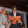 TP Agarwal and Amitabh Bachchan at Launch of T P Aggarwal's trade magazine 'Blockbuster'
