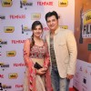 Abbas with wife Erum Ali at 59th !dea Filmfare Awards 2011 (South)