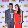 Riyaz Khan with wife at 59th !dea Filmfare Awards 2011 (South)
