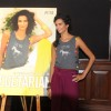 Poorna Jagannathan poses during the Launch of Peta�s Pro-Veg campaign