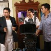 Akshay Kumar and Paresh Rawal on the sets of movie OMG! Oh My God | OMG! Oh My God Photo Gallery