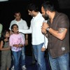 Bollywood actor Abhishek Bachchan and director Rohit Shetty visited Cinemax, Kandivali in Mumbai, to check the audience reaction to their recently released film 'Bol Bachchan'. .
