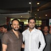 Abhishek Bachchan and Rohit Shetty visited Cinemax, Kandivali in Mumbai